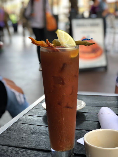 Creole House bacon bloody Mary