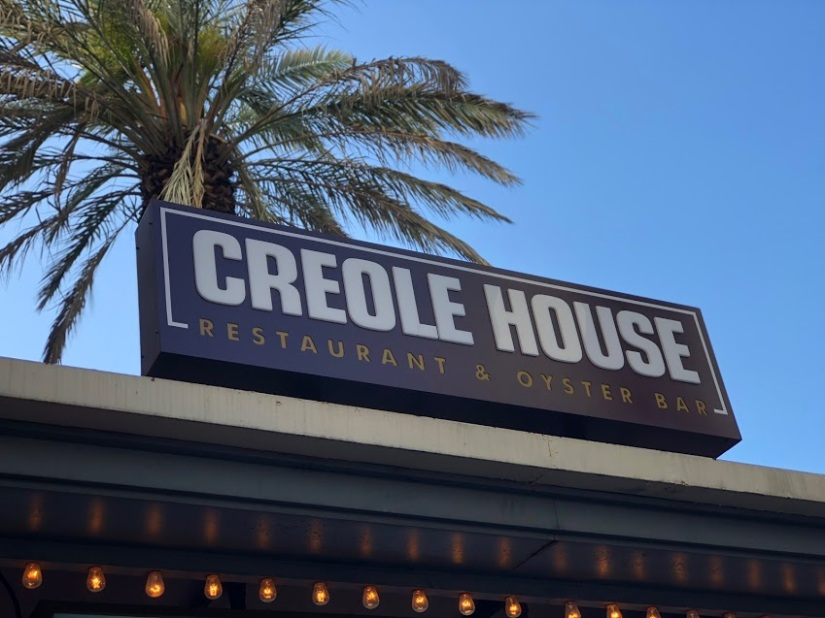 Creole House NOLA sign