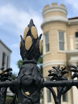 Cornstalk Hotel fence French Quarter