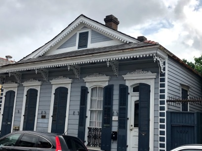 House that replaced Marie Leveau's on St. Ann