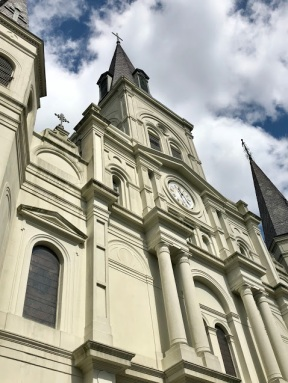 St. Louis Cathedral angle